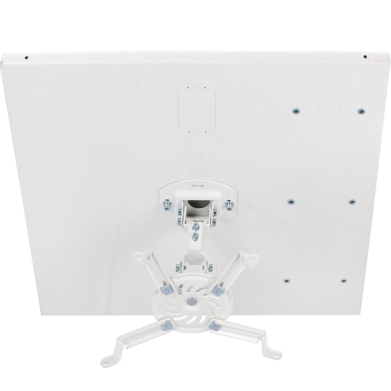 Amazon.com: VIVO Universal White Adjustable 2x2 ft Drop Ceiling ...
