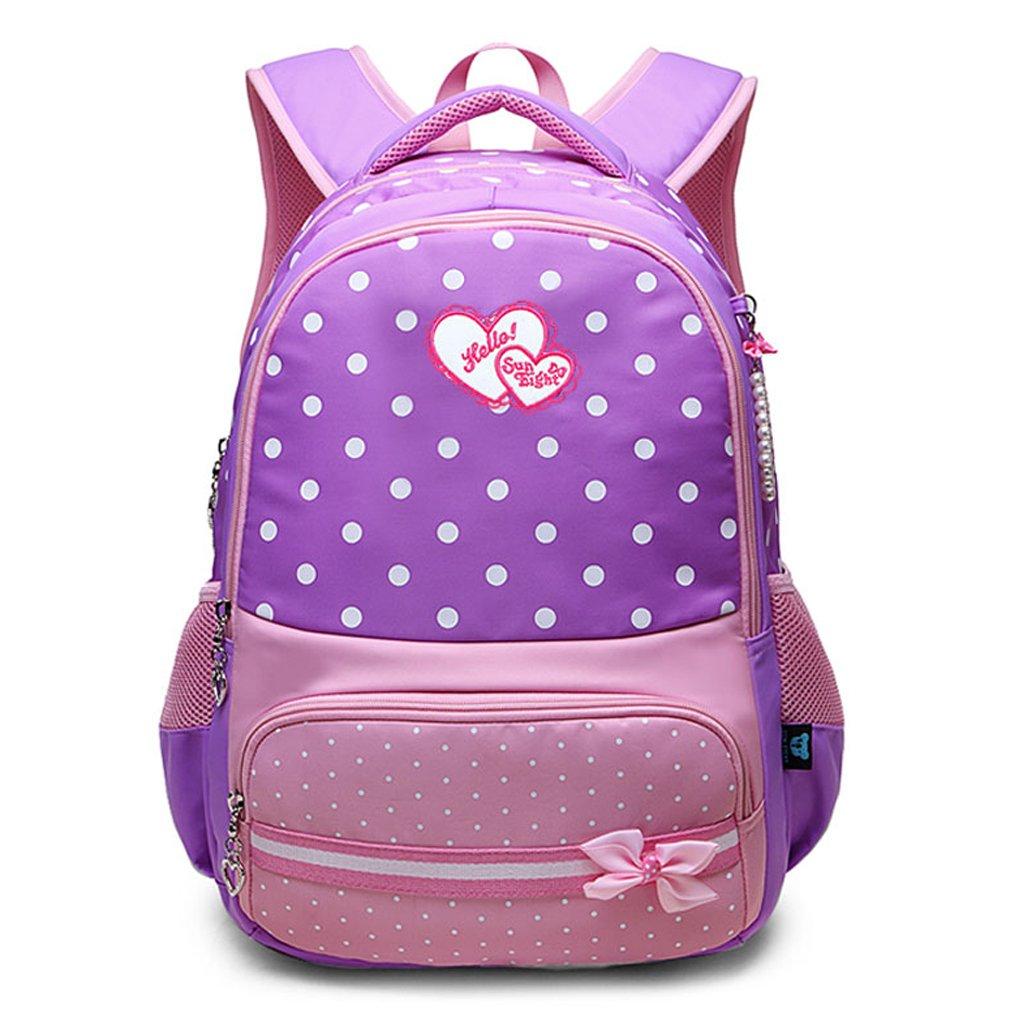 G Backpack School Bags  Princess Casual Schoolbag for Kids Bookbags