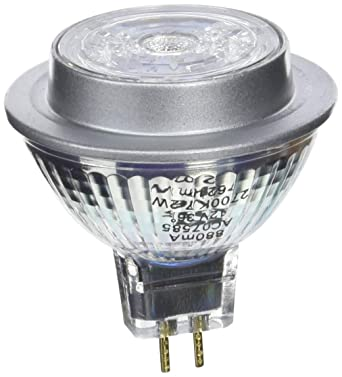 Osram Star Mr16 Bombilla LED GU5.3, 7.2 W, Blanco, 10 unidades