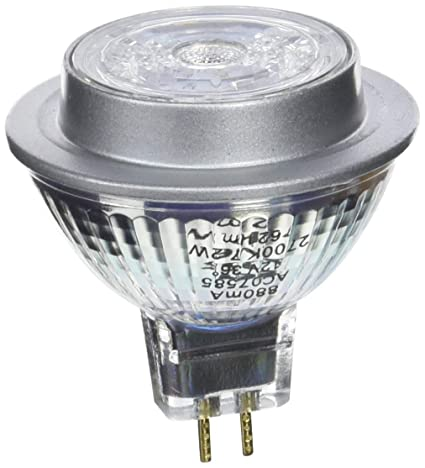 Osram Star Mr16 Bombilla LED GU5.3, 7.2 W, Blanco 10 unidades