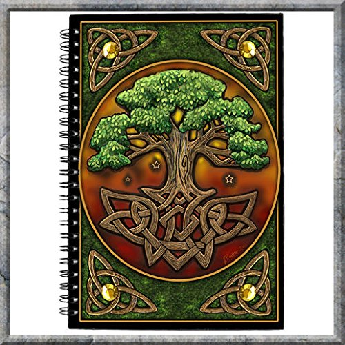 Medium Celtic Circle - Circle Of Life Celtic Tree Uk Medium Journal Fantasy Collection