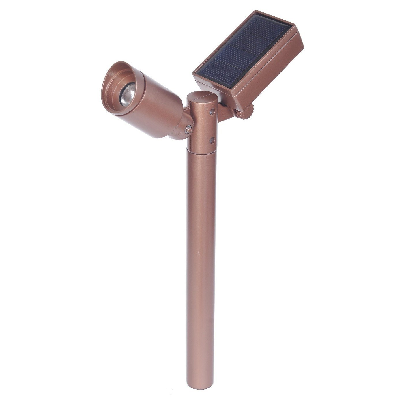 Smith & Hawken Outdoor Large Pathway Solar LED Light - Copper Finish 4-pack