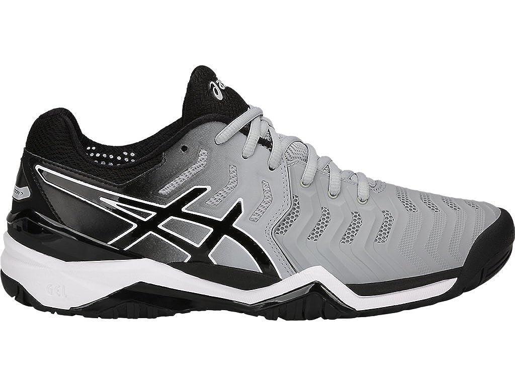 gráfico por favor no lo hagas Manifiesto  ASICS Gel-Resolution 7 Tennis Shoe Mid Grey/Black/White 8 D(M) US: Buy  Online at Low Prices in India - Amazon.in