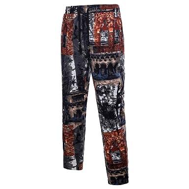 Pantalones Cortos Hombre Hombres Pantalones Harem Pantalones De ...