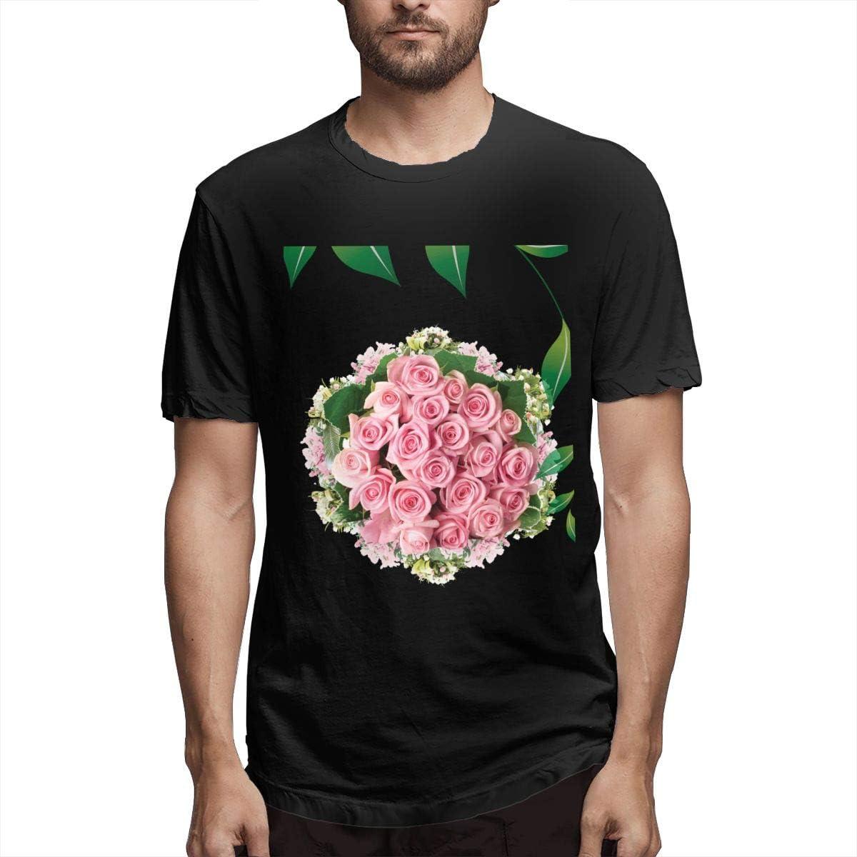 Camisa Ramo de Flores Rosa Entrega de Flores Floristería ...