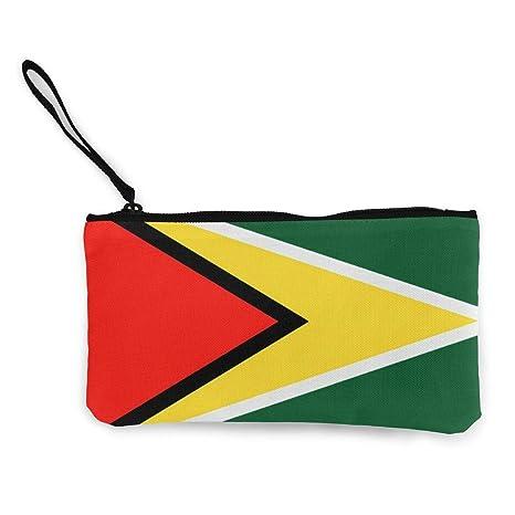 Serity Flag of Guyana - Monedero portátil de Lona con diseño ...