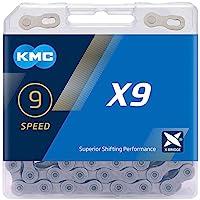 KMC Uniseks X9SL Ti-N X9 SL 9-voudige ketting, 114 schakels