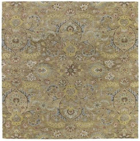 Kaleen Helena Collection Hand Tufted Area Rug, 8 x 10 , Gold