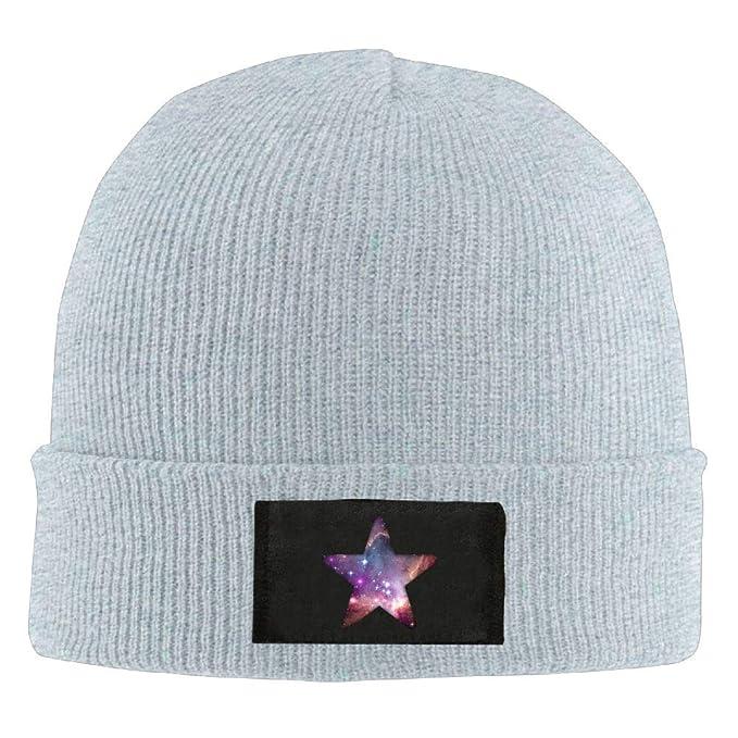 b71b56e1d6ea4c Oopp Jfhg Skull Hat Slouchy Wool Cap Mens Winter Galaxy Star at ...