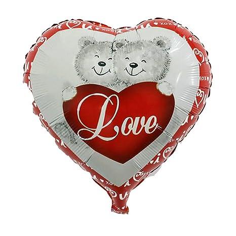 Globo Balón hinchable Corazón Love Amor San Valentín Día ...