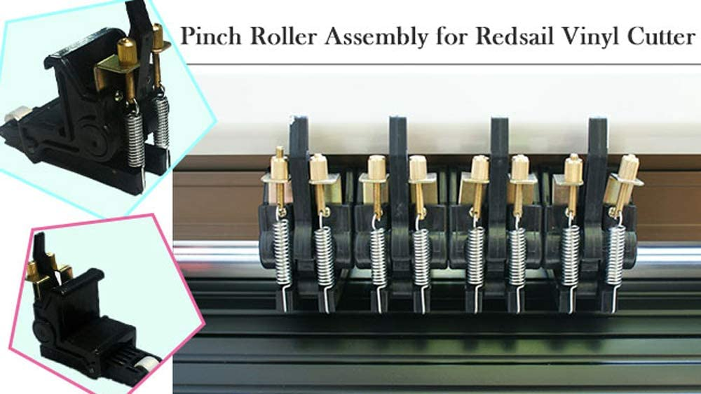 Original Pinch Roller Assembly for Redsail RS-360C// RS-720C// RS-1120C RS-1360C