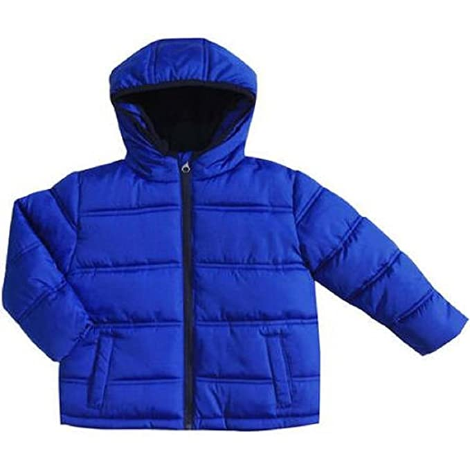 d425d9b1f Amazon.com  Baby Boys Puffer Jacket Toddler (Nautical Blue
