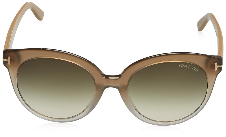 Tom Ford Sonnenbrille FT0429_PANT_59B (54 mm) Beige, 54