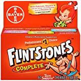 Flintstones Children's Complete Multivitamin Chewable Tablets, 60-Count Bottles (Pack of 3)