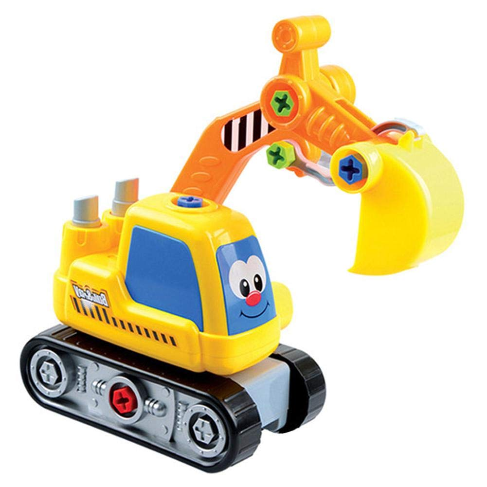 iYoung Mini Detachable Engineering Vehicles Intellectual Development Children Toys