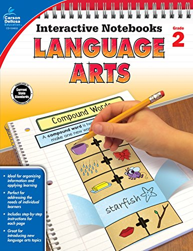 Language Arts, Grade 2 (Interactive Notebooks) (Cut And Paste Math Worksheets For First Grade)