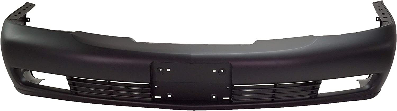 Front Bumper Cover For 2000-2005 Cadillac DeVille Base//DHS Primed Plastic