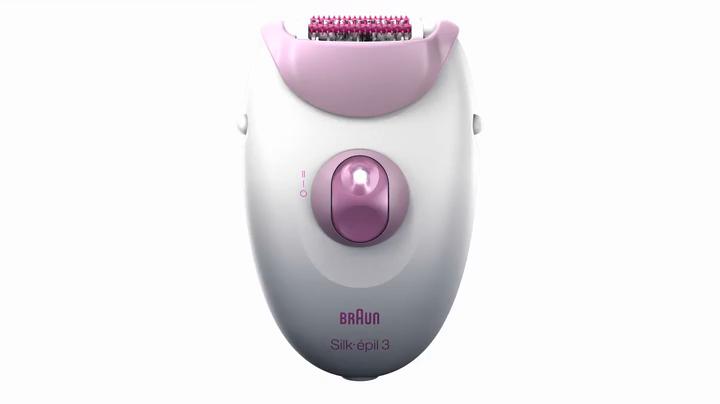 Braun Silk-épil 3 3270 - Depiladora para mujer con cable, cabezal ...