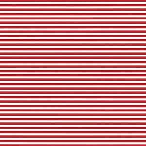 Caspari Inc. - Papel de regalo, diseño de rayas, color rojo y blanco