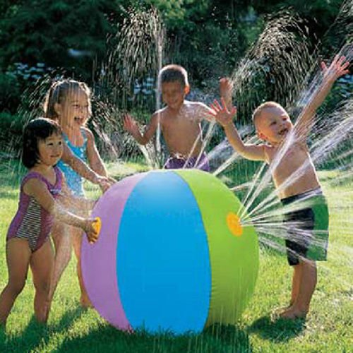 MAZIMARK-Outdoor-Inflatable-Water-Spray-Ball-Summer-Swimming-Kids-Chidren-Toys by MAZIMARK