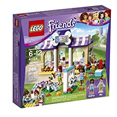 LEGO Friends 41124 Heartlake Puppy Daycare Building Kit (286 Piece)