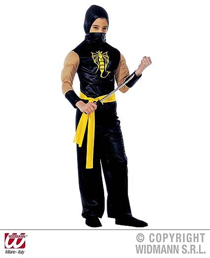 WIDMANN Disfraz ninja musculoso para niño: Amazon.es ...