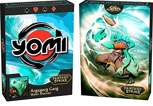 Card Game - Yomi: Argagarg Garg Deck - Water Shaman by Sirlin Games