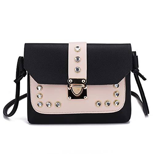 055ca14cabe3 ZOMUSAR Ladies Purses Hit Color Rhinestone Designer Cross Body Handbags  Trendy Bags for Women Shoulder Bags