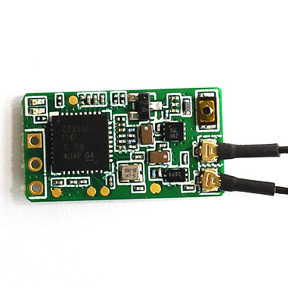Frsky Xm Plus Mini Receptor De Hasta 16 Canales 1.6 G De Rango Completo Apto Para Micro Drone