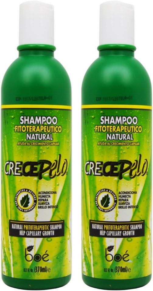 BOE Crece Pelo Shampoo Fitoterapeutico Natural (Natural ...