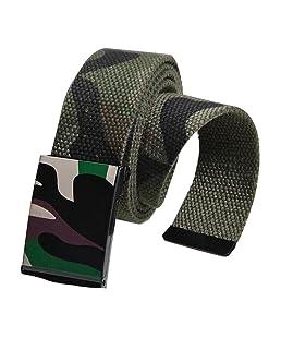NIUQY Cintura Con Cinturino Automatico Con Cintura In Tela Cintura Tattica Stile Militare Cintura In Tessuto Stiloso Intrecciato Riggers Con Fibbia