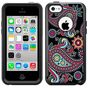 OtterBox Commuter Apple iPhone 6 plus 5.5 Case - Paisley Flower on Black OtterBox Case