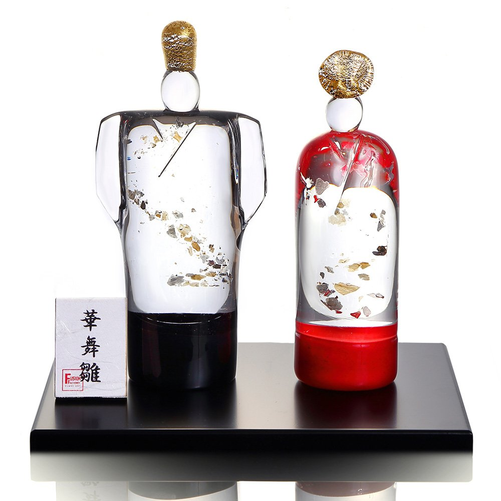 硝子の雛人形 華舞雛 小(野口硝子 ガラスのひな人形)FF-38781954   B00I8H176S
