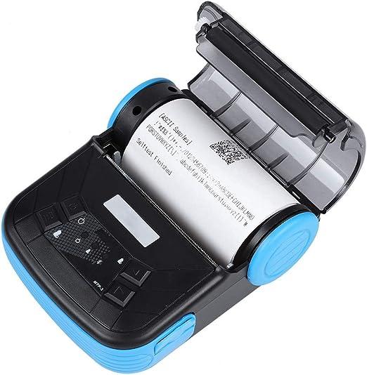 Jadpes Impresora térmica portátil Bluetooth, Impresora térmica ...