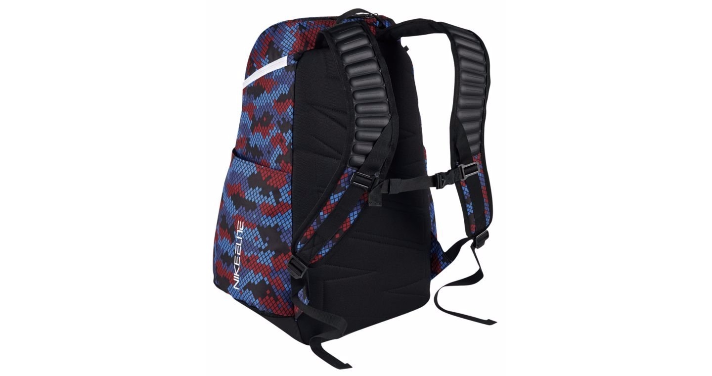 Nike Hoops Elite Max Air Team 2.0 Basketball Backpack Navy Blue Red White  Black  Amazon.co.uk  Sports   Outdoors 487a3f2c7868e
