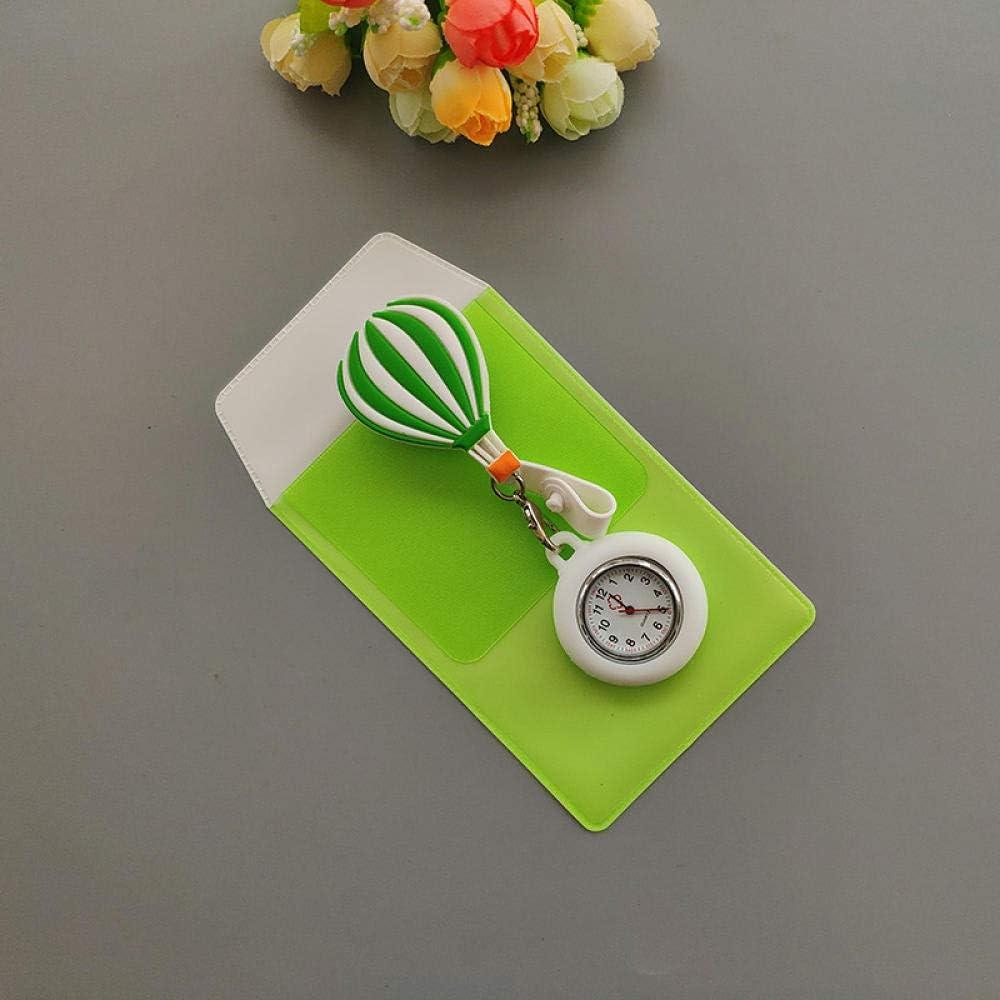 Enfermera Clip Reloj De Bolsillo,Reloj de Bolsillo de Cuarzo de Silicona médica anticaída, Mesa de Enfermera para Enviar estuche-KD010,Relojes de Doctor Enfermera: Amazon.es: Hogar