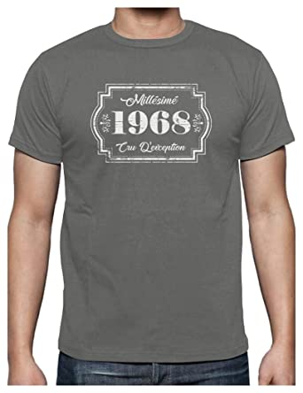 Green Turtle T-Shirts Millesimé 1968 cru d éxception - 50 Ans T ... d572796a30b