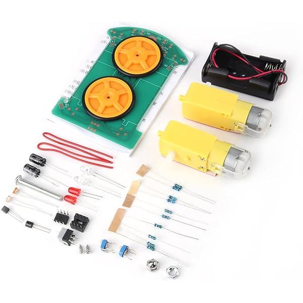 Kit de Robot Coche Inteligente Conjunto de Componentes ...