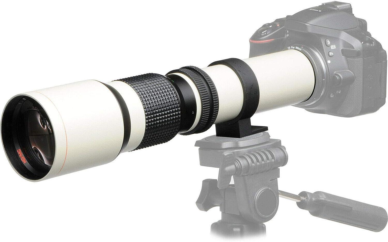 JINTU - Lente de teleobjetivo para cámara Digital Nikon D3100 ...