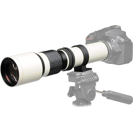 JINTU 500mm f/8 0 Telephoto Manual Focus Lens for Nikon DSLR Digital Camera  D3500 D3400 D3300 D3200 D90 D80 D7500 D7100 D7200 D5100 D5200 D5300 D5500