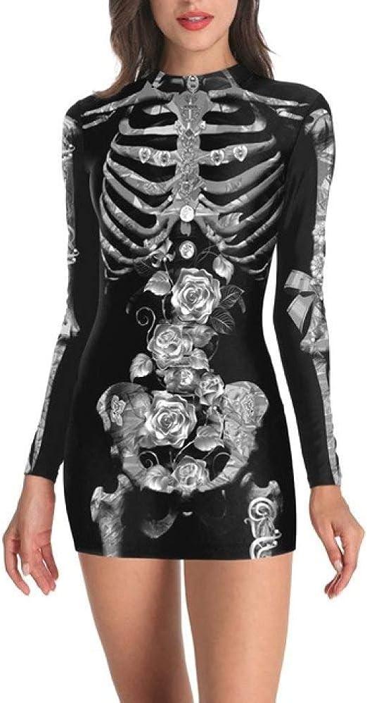 ZLHZYP Disfraz Halloween Disfraz de Halloween para Mujer, Disfraz ...