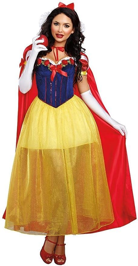 Aimerfeel Princesas de Disney Damen Fairdale Blanco como la ...