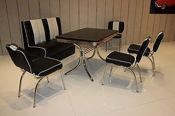 Dreams4home Bankgruppe Soras I Set Essgruppe Tischgruppe