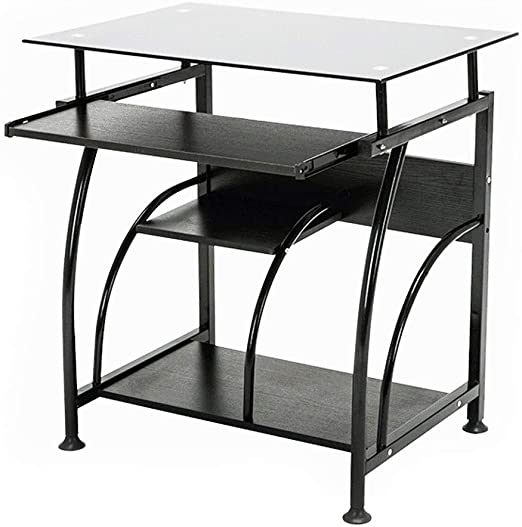 Home Office PC Corner Computer Desk Laptop Writing Table Workstation Furniture