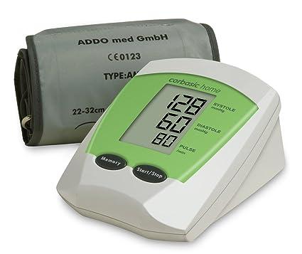 corbasic Home, sistema automático de Digital Tensiómetro de brazo, color verde