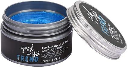 Garosa 100ml DIY Hair Coloring Wax Mud Hair Tool, azul, rojo ...