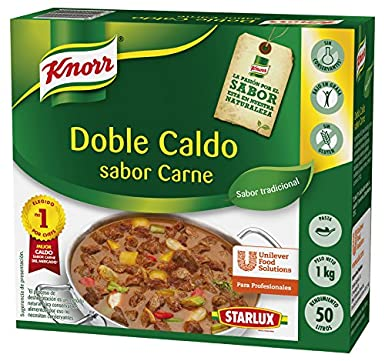 Knorr Caldo Doble Carne en pasta Sin Gluten 1 kg