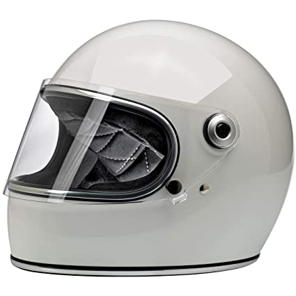 c036e7db Amazon.com: Biltwell Gringo S ECE Rated Helmet Gloss White X-Small (More  Size and Color Options): Automotive
