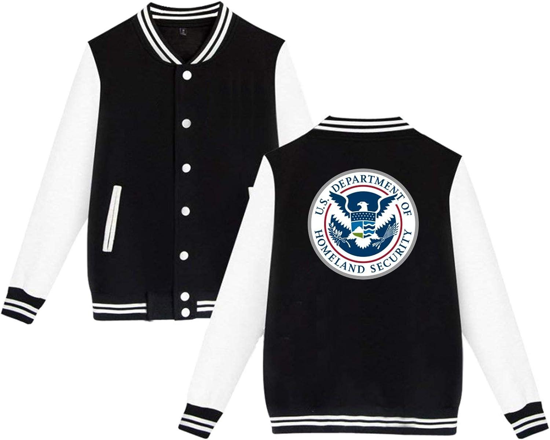 Department Of Homeland Security Classic Woman Mens Baseball Uniform Adult Baseball Suit