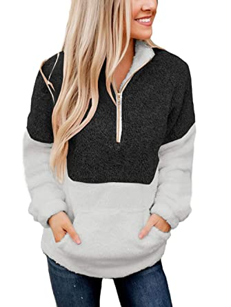 Hoodies Sweatshirts 2018 New Womens Splice Faux Fur Velvet Sweatshirt Hooded Pullover Lady Autumn Winter Tops Casual Streetwear 100% Original Women's Clothing